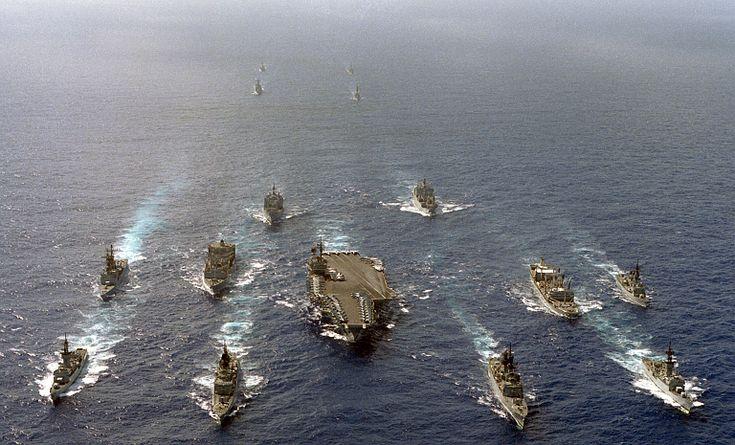 USS Kitty Hawk Battle Group