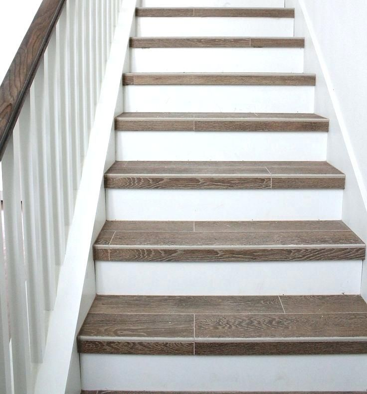 Porcelain Tile Staircase Ceramic Tile Stair Nosing Home Depot | Wood Steps Home Depot | Handrail | Risers | Staircase | Flooring | Pressure Treated