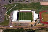 Sixfields stadium where I played for 3 years!!