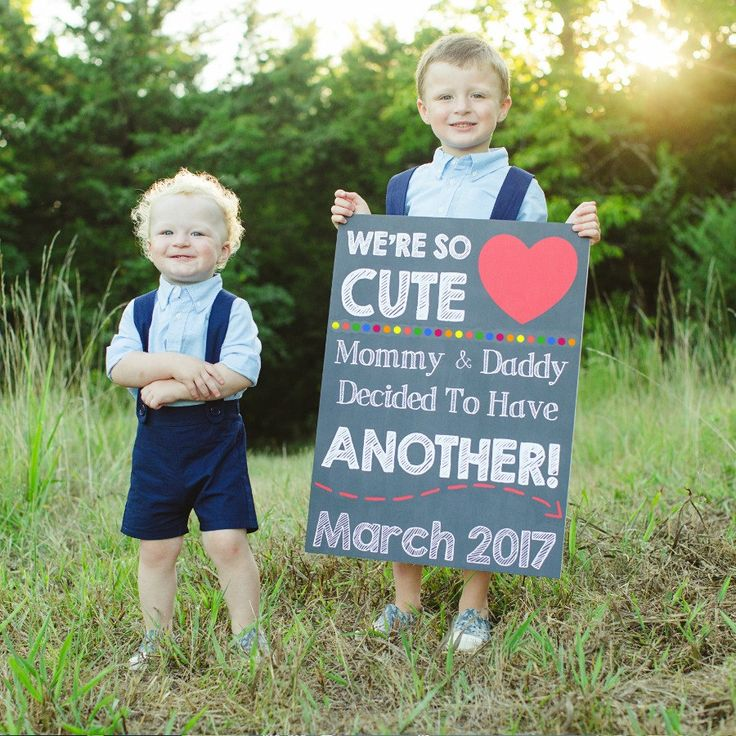 Best 25 Sibling baby announcements ideas – Sibling Announcing New Baby