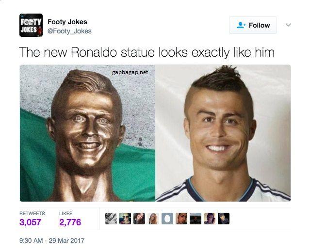 Funny Cristiano Ronaldo Memes