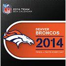 Denver Broncos 2014 Desk Calendar | Denver Broncos | CALENDARS.COM