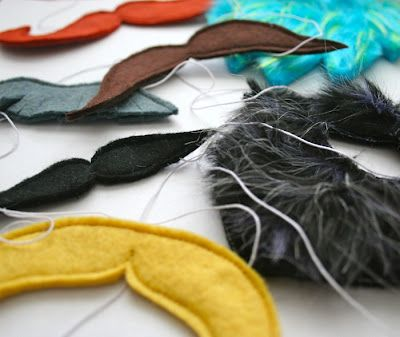 fake mustaches for the kids to play with.... they would LOVE this!!