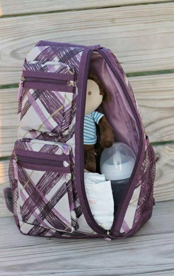 FHilsinger: I'm loving the new Sling Back Bag for a diaper bag. This great… | FindSalesRep.com