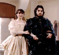 I love that they had Athos give her away...it's the little touches that make all the difference