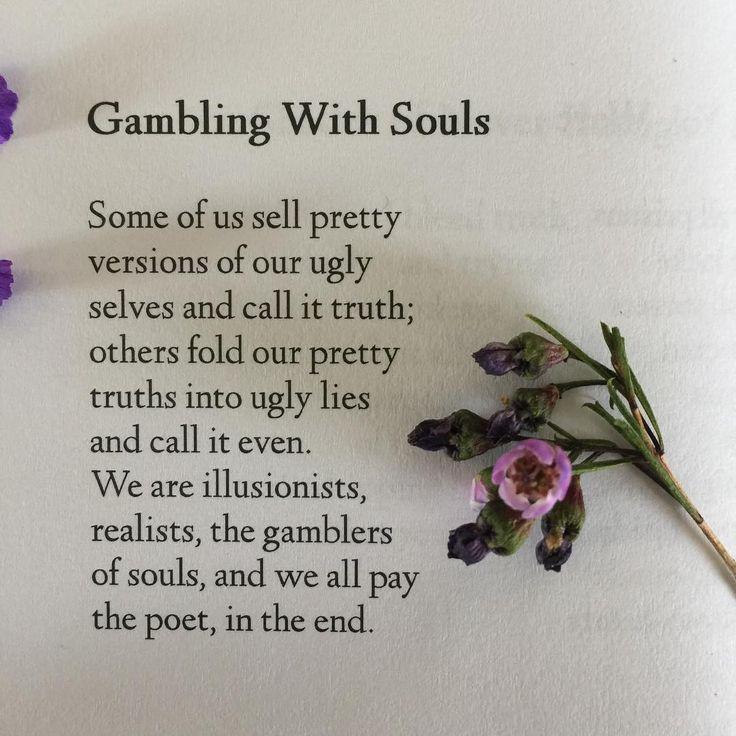 gambling addiction poem