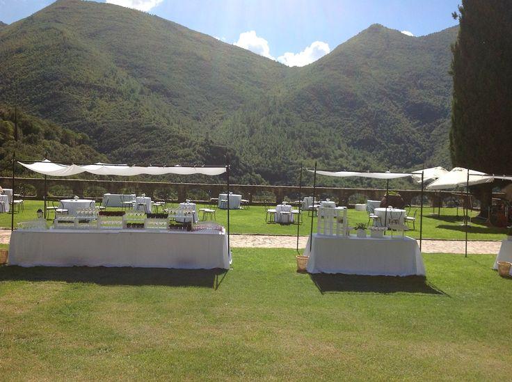 buffet di nozze. matrimonio in Umbria. Italy wedding