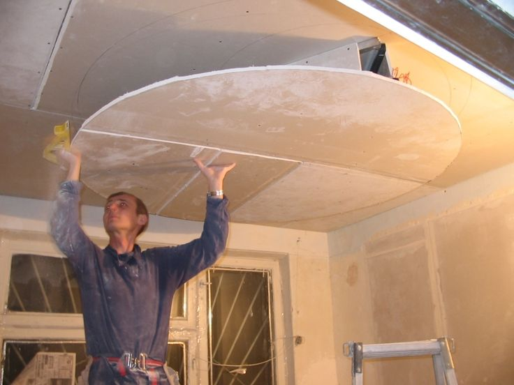 Навесные потолки из гипсокартона