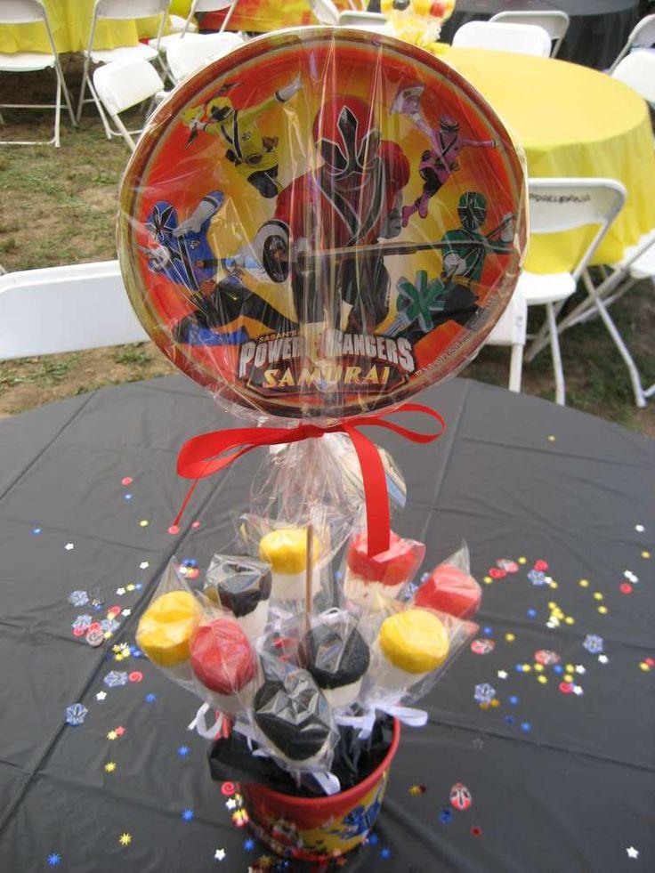 Power Rangers Samurai Birthday Party Ideas | Photo 3 of 16 | Catch My Party