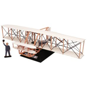 [Printable activity] Wright Flyer - a paper model of a the Wright Brother's flying machine. Print (I think it might be best to print this on cardstock, which is a thick kind of paper), follow the directions to build your model. Enjoy!