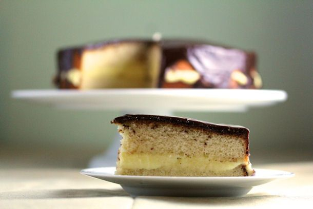 Boston Cream Pie is really a delicious cake and perfectly delightful ...