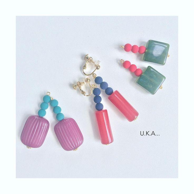 いいね!0件、コメント1件 ― @uka_accessoriesのInstagramアカウント: 「フランスビーズが可愛いイヤリング #handmadeaccessory #handmade #vintage #jewelry #ハンドメイド #ハンドメイドアクセ…」