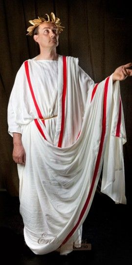 how to make a simple toga