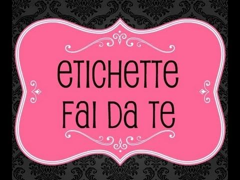 17 best images about etichette da stampare on pinterest homemade watches and the pink - Programma creare casa ...