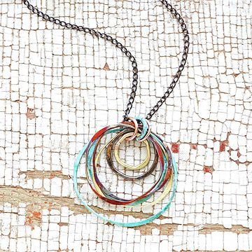 Look what I found at UncommonGoods: Mixed Metals Necklace for $60.00 #uncommongoods