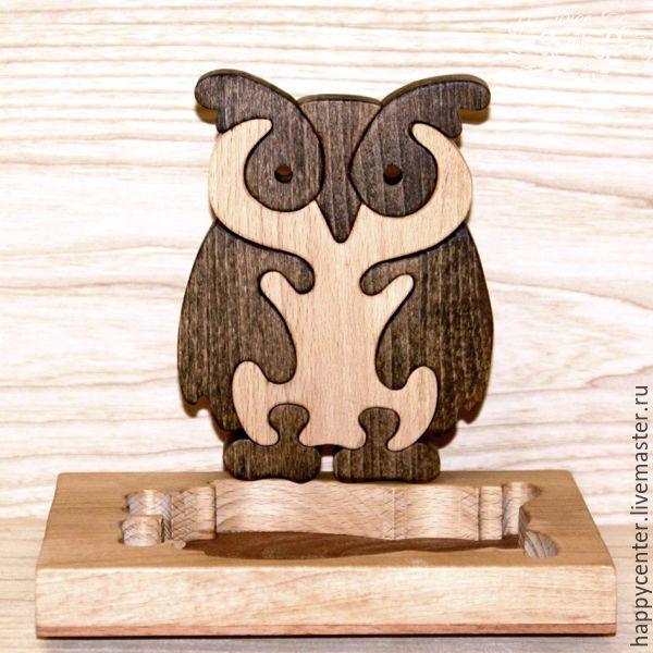 """Купить Пазлы подарочные из бука. Сувенир из дерева """"Мудрость"""".. - пазлы, пазлы из дерева, деревянные пазлы"""