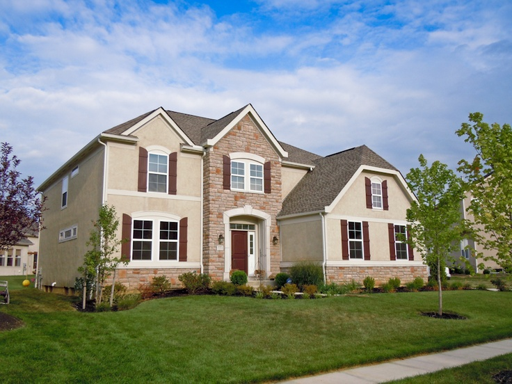 Model homes in central ohio
