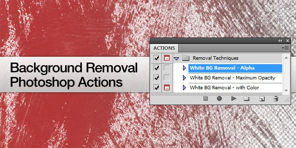 Remove Background from an Image with Photoshop action(download) (White Bg/Alpha/Max Opacity)