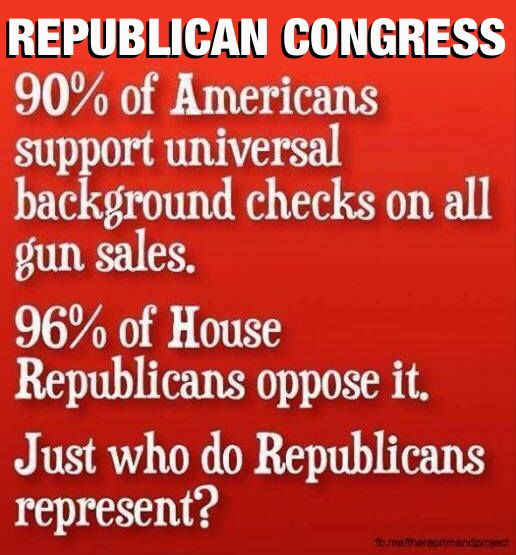 More and more shootings and the republican congress does nothing.