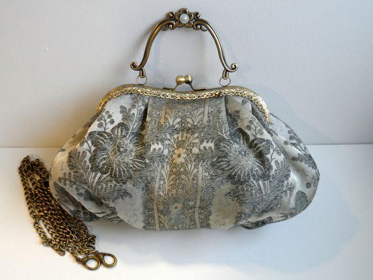 Bolso vintage hecho a mano. www.lolitasala.es