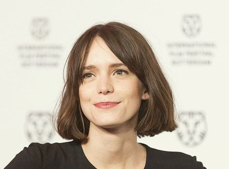 """""""Stacy Martin at the 'The Childhood Of A Leader' premiere at the Rotterdam Film…"""
