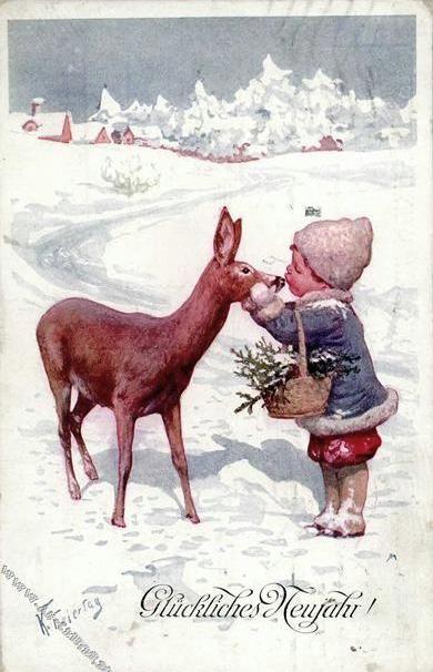 Мобильный LiveInternet Karl Feiertag(1874-1944) Зимние картинки   keb59 - Дневник елена_купцова  