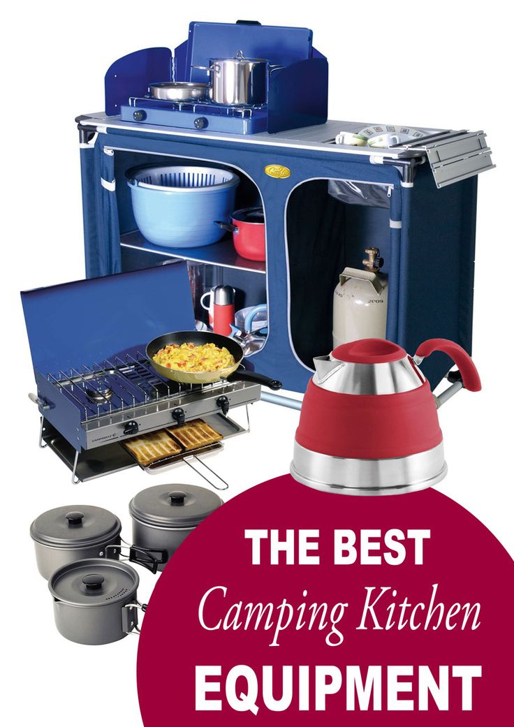 The Best Camping Kitchen Equipment - create a Camp Kitchen #MyKitchenAccessories