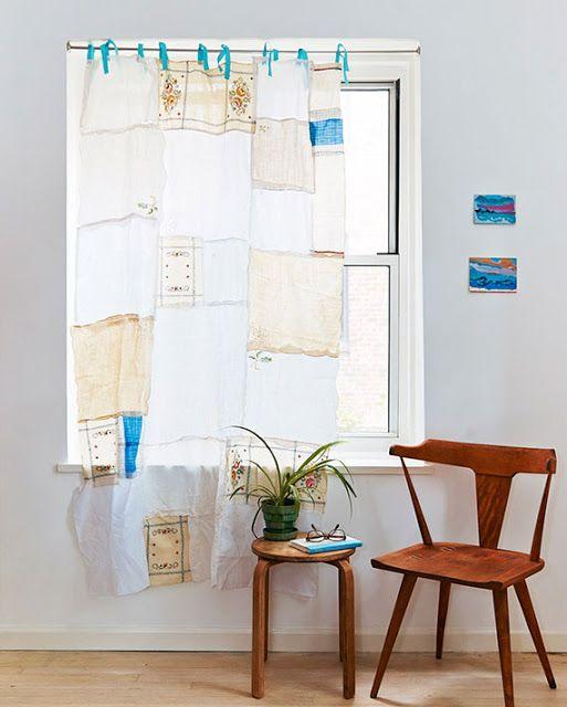 DIY Vintage Κουρτίνα από Πετσετάκια!   Φτιάξτο μόνος σου - Κατασκευές DIY - Do…
