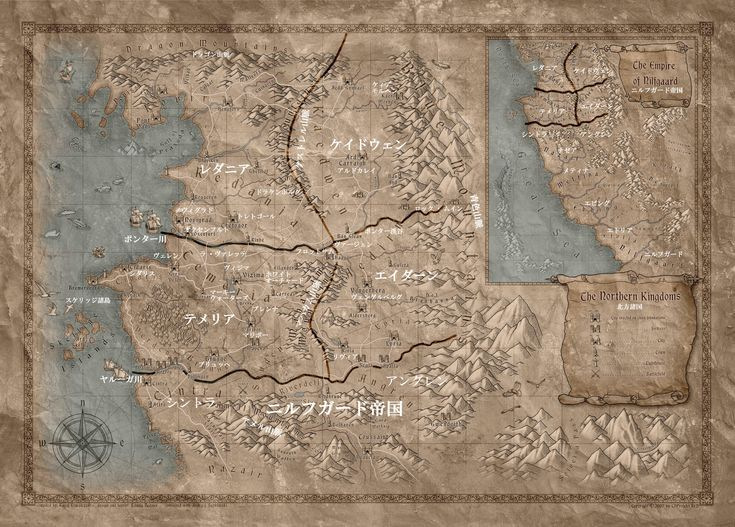 【Witcher3】世界マップほしかったので日本語化してみた【PC/PS4/Xbox One】 ウィッチャー3 ワイルドハント 攻略データベース