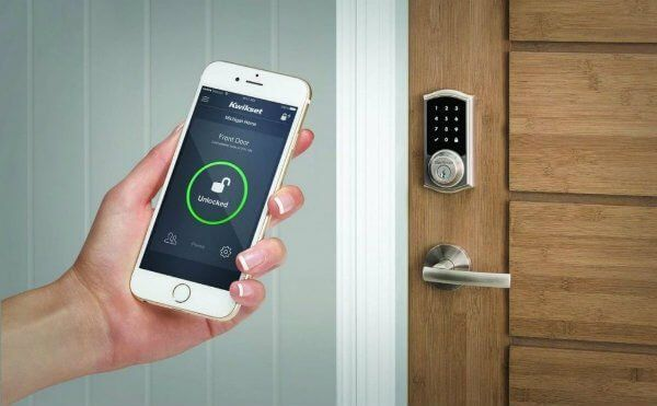 Best Smart Door Lock System For Home Keyless Electronic Door Locks Review Smart Lock Smart Door Locks Smart Home Automation