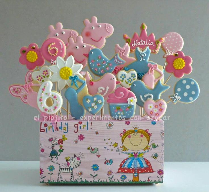 Flower animal Cookies