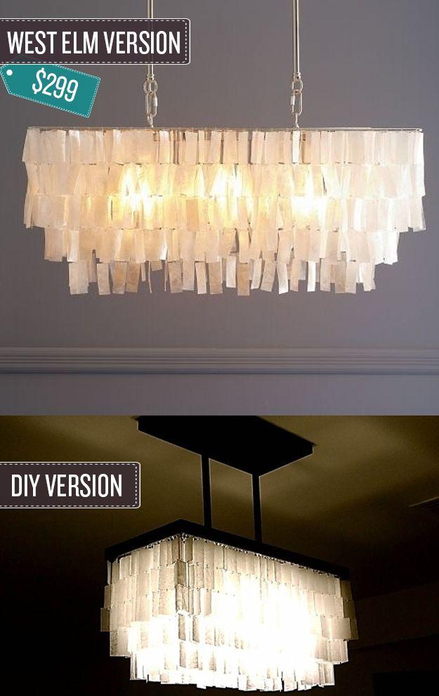Build a pendant chandelier.