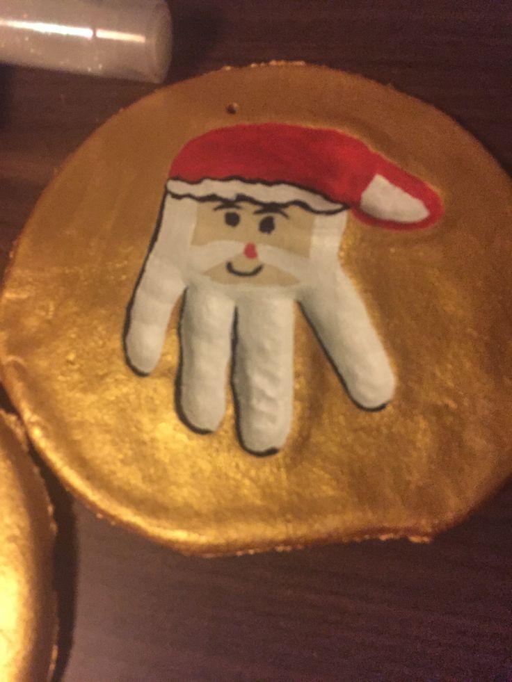 Hjemmelavet julemand i trylledej