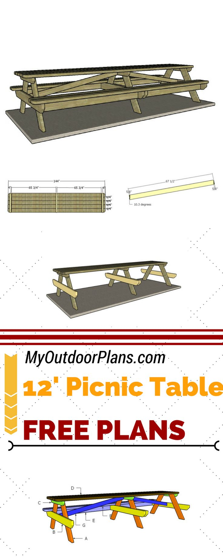 best 25 build a picnic table ideas on pinterest drink coolers