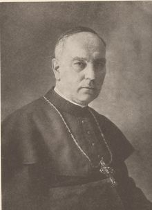Conrad Gröber (born April 1, 1872 in Meßkirch; died February 14, 1948 at Freiburg im Breisgau).  He was a Catholic priest and archbishop of the Archdiocese of Freiburg. Historian of the German Resistance, Joachim Fest, nominates Gröber, alongside August von Galen and Konrad von Preysing as one of the individual senior clerics who came to lead Catholic resistance to Nazism in Germany.