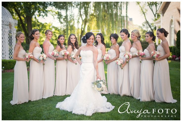 Bridal Party - AnyaFoto - Wedding Photographer NJ