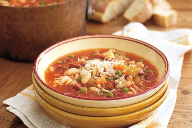 With or without the chilli, this quick soup is an easy and tasty weeknight meal.