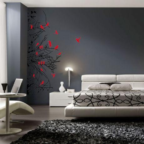 M s de 1000 ideas sobre dormitorios negro rojo en - Todo sobre decoracion de interiores ...