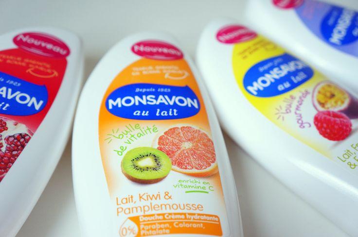 Monsavon gel douche anti morosité
