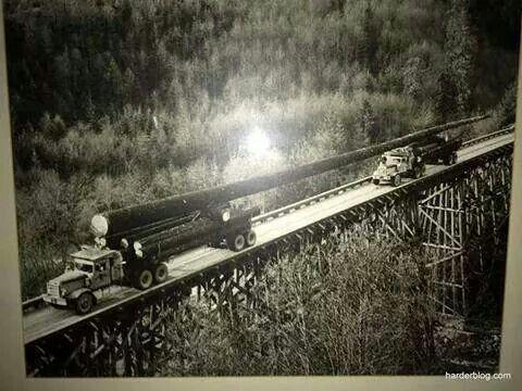 Old school tandem transport....