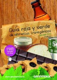 Guía roja y verde de alimentos transgénicos | Greenpeace España