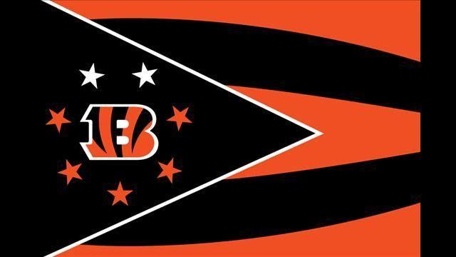 Sports-Football-Cincinnati Bengals-Logo-Flag
