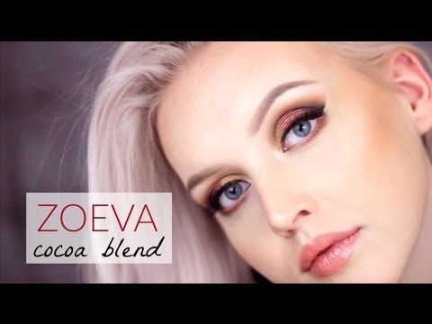 ZOEVA Cocoa Blend Palette / Makeup Tutorial