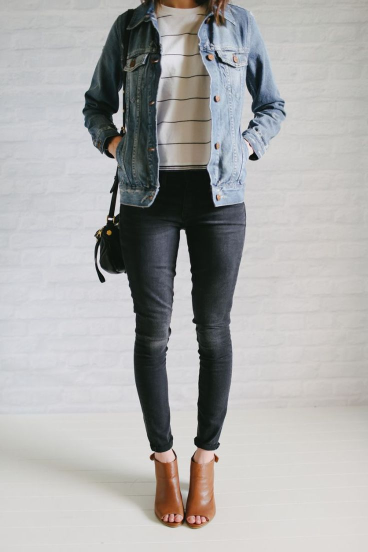 17 Best ideas about Grey Denim Jacket on Pinterest | Denim winter ...