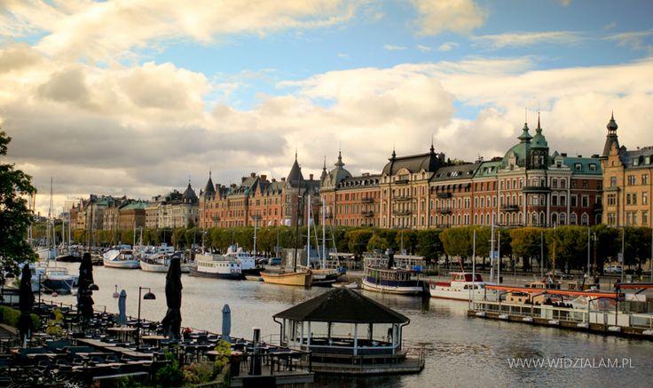 Sztokholm to miasto kanałów, zieleni i pięknych budowli