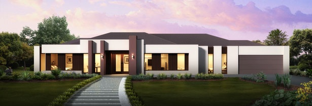 JG King Home Designs: The Renaissance Latitude Facade. Visit www.localbuilders.com.au/builders_victoria.htm to find your ideal home design in Victoria