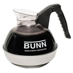 BUNN® 12-Cup Coffee Carafe for Bunn Coffee Shop now Makers12-Cup Coffee Carafe for Pour-O-Matic Bunn Coffee Makers, Black Handle at Janeice Product  #coffeemakers #bunn