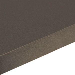 Zinc Black | Laminate Square Edge Worktops | Kitchen Worktops | Kitchen | Rooms | DIY at B&Q