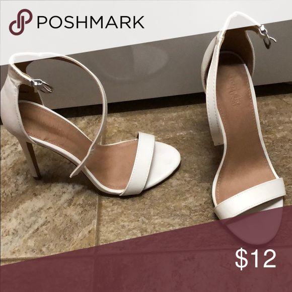 Charlotte Russe heels Charlotte Russe heels. Worn once inside. Shoes Heels