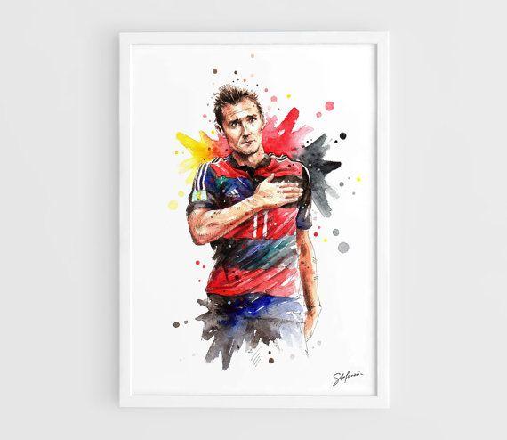 Miroslav Klose Germany national football team FIFA by NazarArt